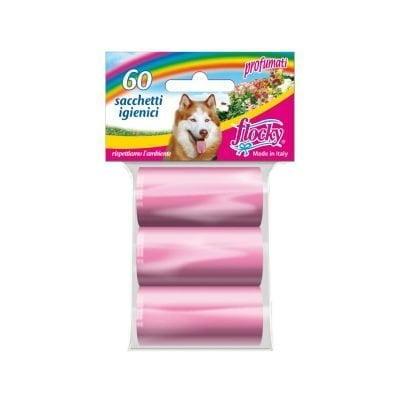 Flocky | Sacchetti igienici per cani | Linea Color | art.016r
