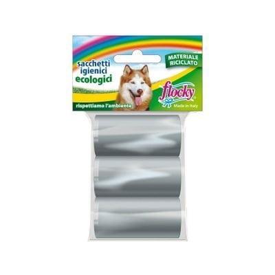 Flocky | Sacchetti igienici per cani | Linea Ecologica Riciclato | art.119