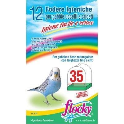 Flocky | Fodere per gabbie uccelli | art.031