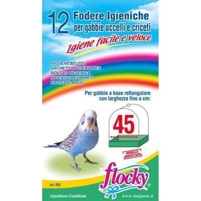 Flocky | Fodere per gabbie uccelli | art.033