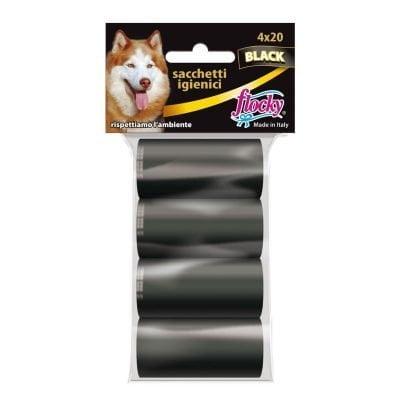 Flocky | Sacchetti igienici per cani | Linea Black | art.114
