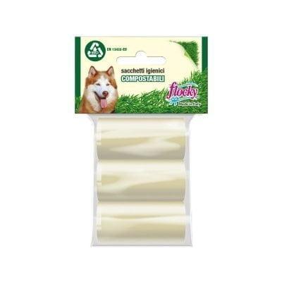 Flocky | Sacchetti igienici per cani | Linea Compostabili-Bio | art.115