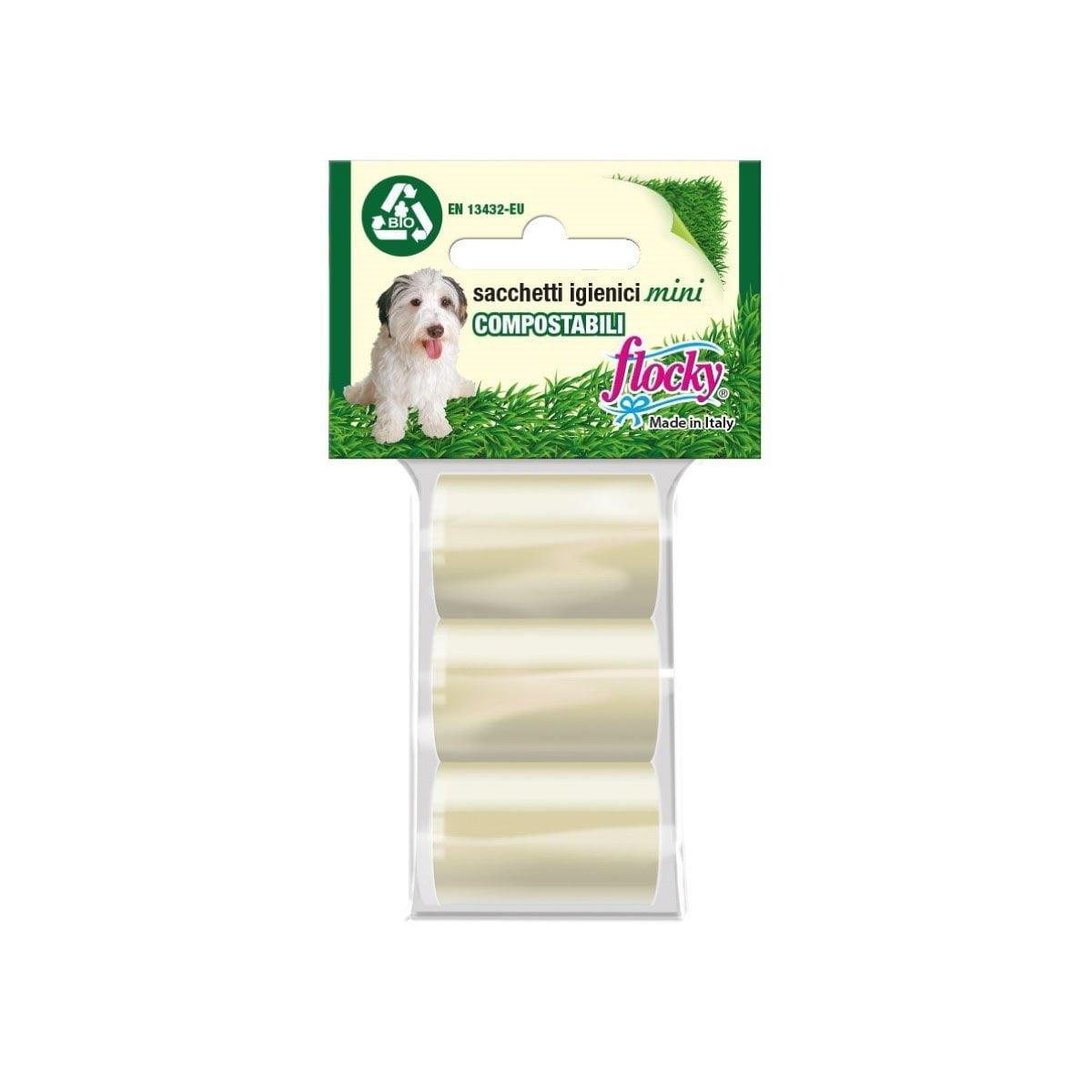 Flocky | Sacchetti igienici per cani | Linea Compostabili-Bio | art.116